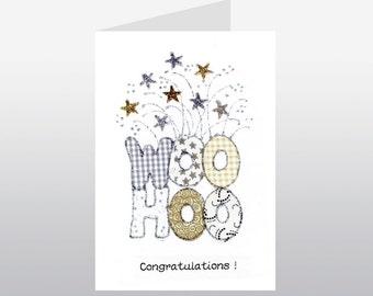 Congratulations Card Woohoo WWCN01
