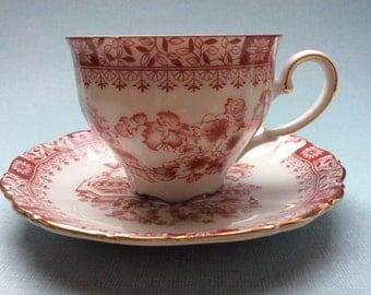 Seltmann Weiden Theresia tea cup and saucer, German porcelain, Bavaria porcelain