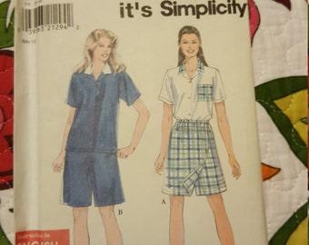 1997 SIMPLICITY#8046 SIZE 8 - 18UNCUT