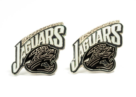 Jacksonville Jaguars Cuff Links -- FREE SHIPPING with USPS First Class Domestic Mail