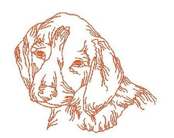 Beagle Dogs  ( 12 Machine Embroidery Designs from ATW )