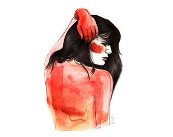 Red - Original Drawing