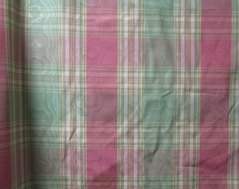 Pink and green moire