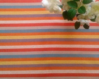 Tablecloth Table cover Striped tablecloth Bright Tablecloth Cotton tablecloth Table top Rectangle tableclothTable cloth