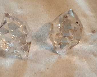 Pair of Herkimer Diamonds for Earrings?
