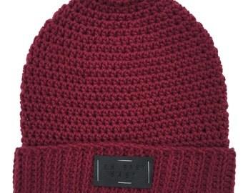 Crochet Beanies, Crochet Hats -- 'REBEL' Beanie