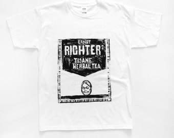 T-SHIRT tea Richter's / / laxative / / SEXY / / HOMEMADE