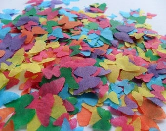 Tropical Paradise Mix Butterfly Biodegradable Tissue Paper Confetti Wedding Party