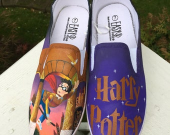 Harry Potter Book Cover Shoes