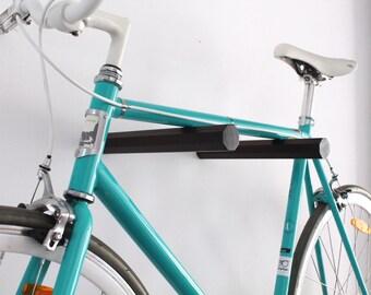 "Bicycle wall mount ""JUSTUS"" in wood | Bikeshelf | Bike rack"