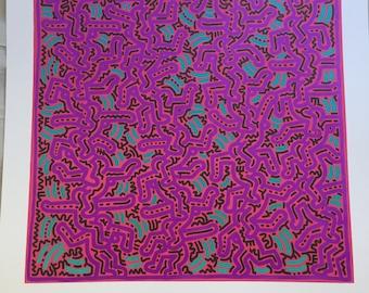 Reproduction Keith Haring 1984
