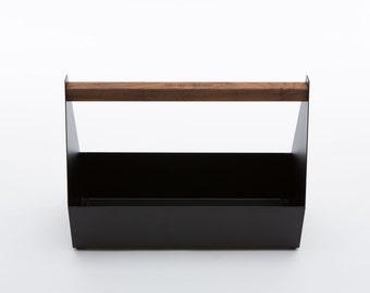 Modern, metal tool box.