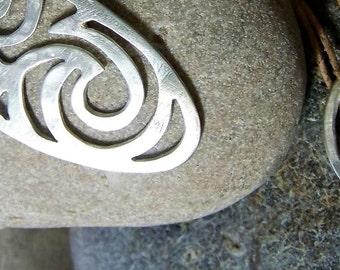 mini seascape pendant (2) silver