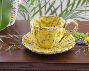 Punnets, Tasseutensilo, coffee cup, Cup from phone book
