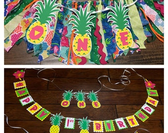 Luau themed Party Package