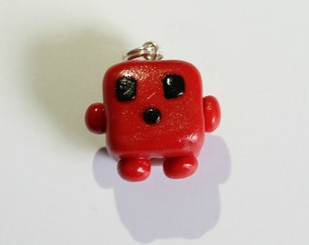 Super Meat Boy Charm (Made to Order)