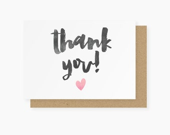 Thank You Pack of 6 Postcards - Thank You Cards
