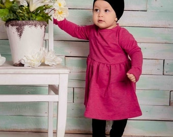 Baby dress, baby girl clothes, baby girl dress, kids clothing, baby girl clothing, cotton baby dress