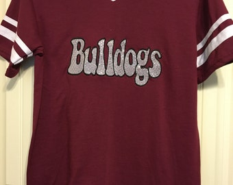 Bulldogs Applique T-shirt