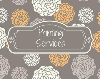 Invitation Printing Services