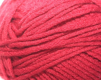 Berroco Comfort, color #9755, lot V1217  True Red