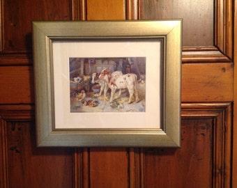 Victorian animal paintings