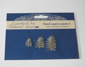 Essentials by Tattered Lace - Floral Layers Leaves 1