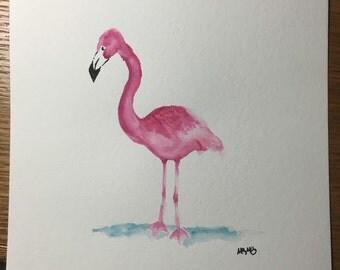 Pink fun flamingo