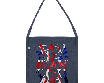 GB 2016 Volleyball Silhouette Tote Bag