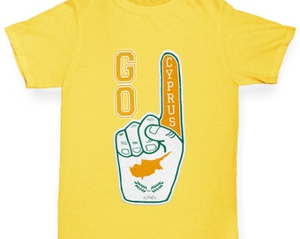 Girl's Go Cyprus! T-Shirt