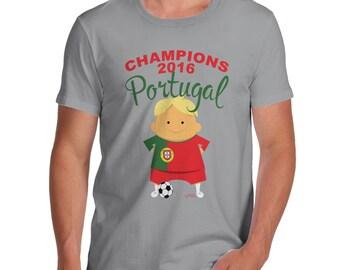 Men's Champions 2016 Portugal T-Shirt