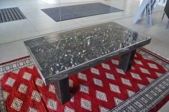Wohnzimmertisch stahl industriedesign by steeldesignco on etsy for Wohnzimmertisch industriedesign