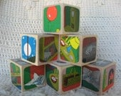 Goodnight Moon Picture Book Wooden Blocks