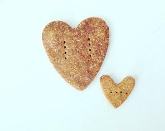 Heart to Heart Gourmet Organic Dog Treat Cookies