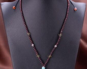 Handmade Design Opallite + Gemstone + 925 Silver