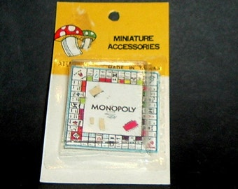 MINIATURE MONOPOLY (Miniature Accessories)