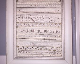 Chic Antiqued Framed molding