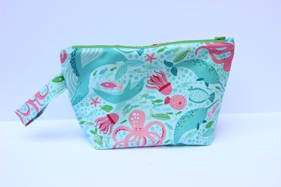 SALE!  Under the sea Medium project bag