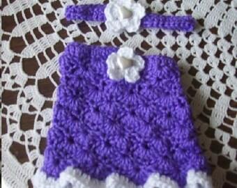 Larger Preemie,Preemies,Girl,Girls,Clothing,Skirt,Purple,Photos,Gift,Crocheted,Infants,Infant