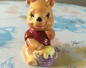 1970's Winnie the Pooh small figurine