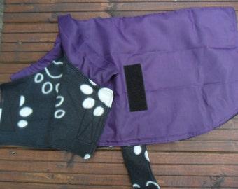 Showerproof Dog Coat with fleece lining - Large size