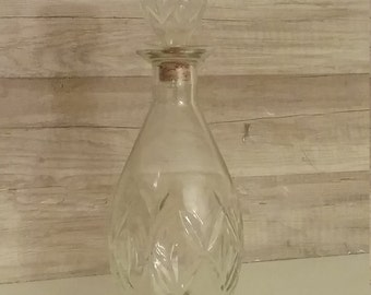 Vintage Owens-Illinois Liquor Bottle Decanter