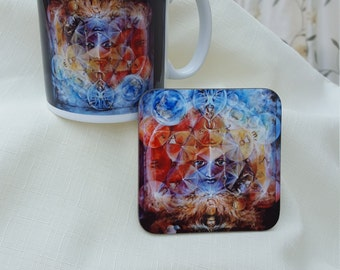 Duality Mug and Coaster Set