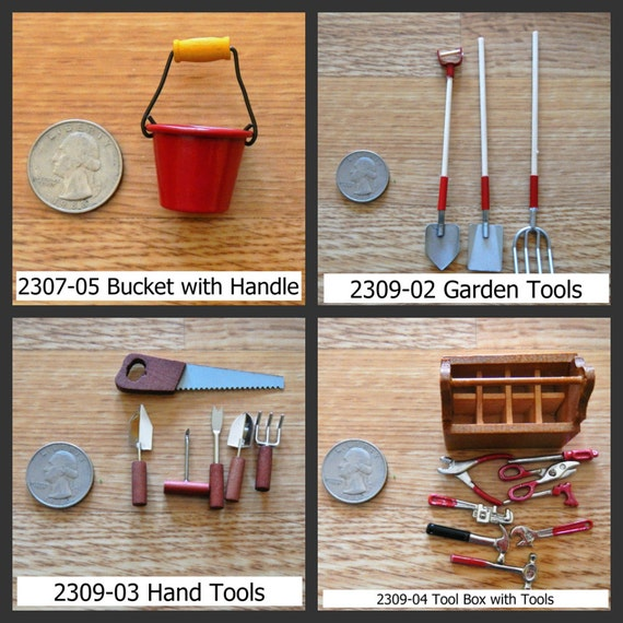 Timeless minis gardening accessories and tools assorted for Gardening tools and accessories