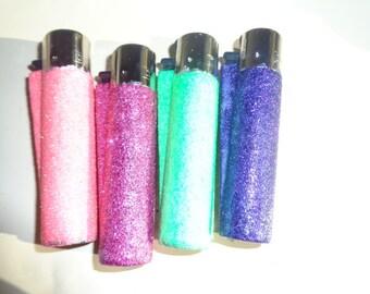 clipper glitter lighter