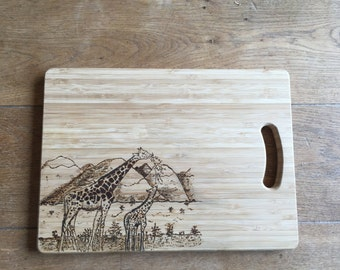 Stunning Safari Collection Chopping, Cheese, Bread or Serving Board