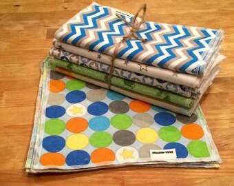 Reusable Baby Wipes, Cloth Wipes, Wash Clothes- 3 Dozen bundles 36 total!