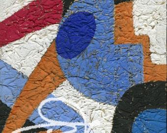 Claude's Art # 63G – Collection « Papiers Froissés »