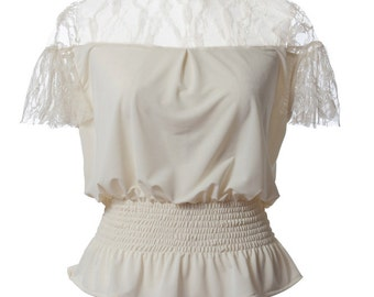 top, romantic dress, bridesmaid dress, lace dress