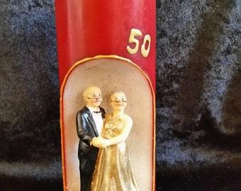 Dekokerze to the golden wedding